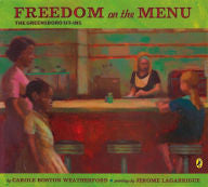 Freedom on the Menu: The Greensboro Sit-Ins - EyeSeeMe African American Children's Bookstore