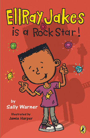 Ellray Jakes is a Rock Star   (Series #2) - EyeSeeMe African American Children's Bookstore
