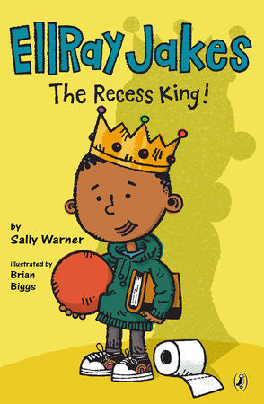 Ellray Jakes, The Recess King   (Series $5) - EyeSeeMe African American Children's Bookstore