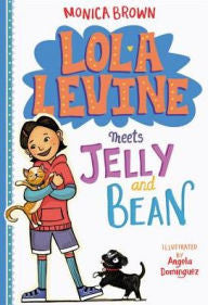 Lola Levine Meets Jelly and Bean (Series #4) - EyeSeeMe African American Children's Bookstore