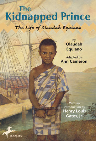 The Kidnapped Prince: The Life of Olaudah Equiano - EyeSeeMe African American Children's Bookstore
