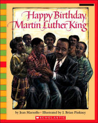 Happy Birthday, Martin Luther King - EyeSeeMe African American Children's Bookstore