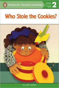 Level Reader:  Who Stole the Cookies? - EyeSeeMe African American Children's Bookstore