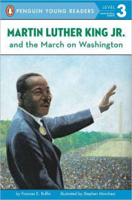 Martin Luther King Jr. and the March on Washington - EyeSeeMe African American Children's Bookstore