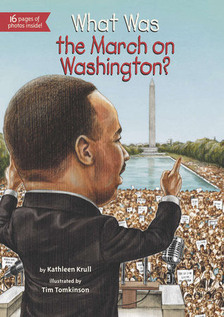 What Was The March On Washington? - EyeSeeMe African American Children's Bookstore