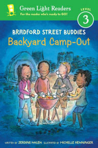 Bradford Street Buddies: Backyard Camp-Out - EyeSeeMe African American Children's Bookstore
