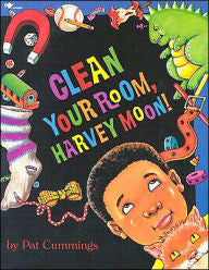 Clean Your Room, Harvey Moon! - EyeSeeMe African American Children's Bookstore