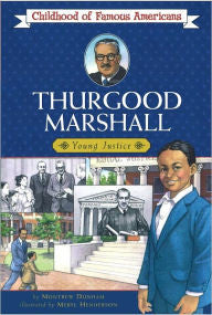 Thurgood Marshall: Young Justice - EyeSeeMe African American Children's Bookstore