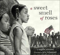 A Sweet Smell of Roses by Angela Johnson - EyeSeeMe African American Children's Bookstore