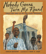 Nobody Gonna Turn Me 'Round: Stories and Songs of the Civil Rights Movement - EyeSeeMe African American Children's Bookstore