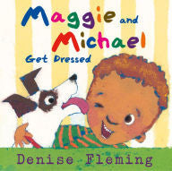 Maggie and Michael Get Dressed - EyeSeeMe African American Children's Bookstore