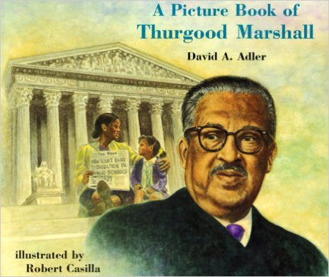 Thurgood Marshall - A Picture Book - EyeSeeMe African American Children's Bookstore