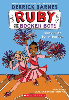 Ruby Flips for Attention (Ruby and the Booker Boys Series #4)