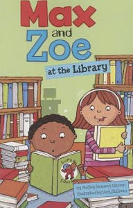 Max and Zoe at the Library - EyeSeeMe African American Children's Bookstore