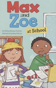 Max and Zoe at School - EyeSeeMe African American Children's Bookstore