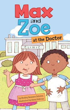 Max and Zoe at the Doctor - EyeSeeMe African American Children's Bookstore