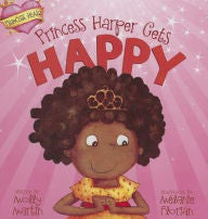 Princess Harper Gets Happy - EyeSeeMe African American Children's Bookstore