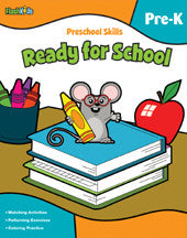 Workbook - Ready for School (Pre K) - EyeSeeMe African American Children's Bookstore