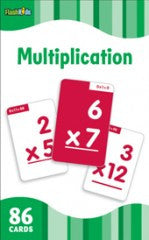 Flash Cards: Multiplication (grade 2 - 5) - EyeSeeMe African American Children's Bookstore