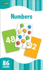 Flash Cards: Numbers  (Grade Pre K - 1) - EyeSeeMe African American Children's Bookstore