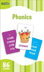 Flash Cards: Phonics (Grade K - 2) - EyeSeeMe African American Children's Bookstore