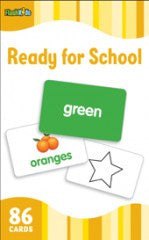 Flash Cards: Ready for School  (Pre k - K) - EyeSeeMe African American Children's Bookstore