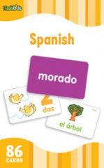 Flash Cards: Spanish Words  (Grade 2 - 6) - EyeSeeMe African American Children's Bookstore