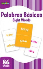 Flash Cards: Spanish Sight Words (Grade K - 3) - EyeSeeMe African American Children's Bookstore