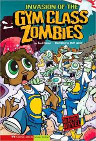 Zombies:  Invasion of the Gym Class Zombies (graphic novel) - EyeSeeMe African American Children's Bookstore
