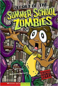 Zombies: Secret of the Summer School Zombies (graphic novel) - EyeSeeMe African American Children's Bookstore