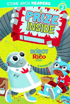 A Robot and Rico Story: A Prize Inside: - EyeSeeMe African American Children's Bookstore