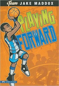 Jake Maddox: Playing Forward - EyeSeeMe African American Children's Bookstore
