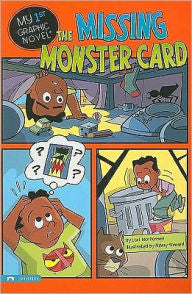 My 1st Graphic Novel:  The Missing Monster Card - EyeSeeMe African American Children's Bookstore