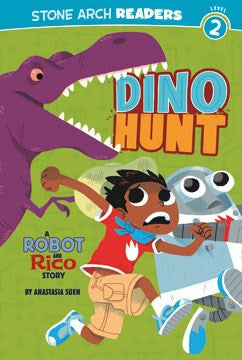 A Robot and Rico Story: Dino Hunt - EyeSeeMe African American Children's Bookstore