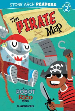 A Robot and Rico Story: The Pirate Map - EyeSeeMe African American Children's Bookstore