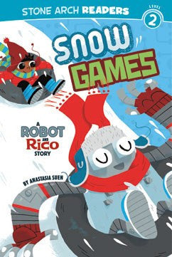 A Robot and Rico Story: Snow Games - EyeSeeMe African American Children's Bookstore
