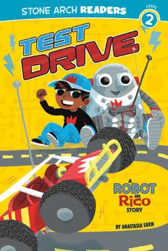A Robot and Rico Story: Test Drive - EyeSeeMe African American Children's Bookstore