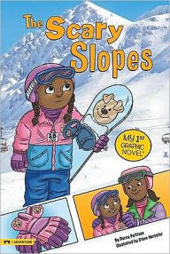 My 1st Graphic Novel:  The Scary Slopes - EyeSeeMe African American Children's Bookstore