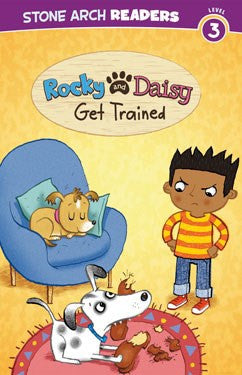 Rocky and Daisy Get Trained - EyeSeeMe African American Children's Bookstore