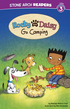 Rocky and Daisy Go Camping - EyeSeeMe African American Children's Bookstore