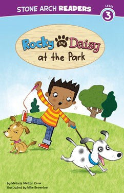 Rocky and Daisy at the Park - EyeSeeMe African American Children's Bookstore