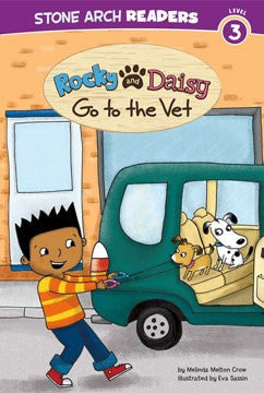 Rocky and Daisy Go to the Vet - EyeSeeMe African American Children's Bookstore