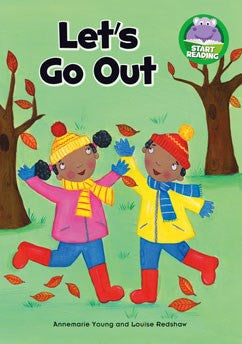 Start Reading - Let's Go Out - EyeSeeMe African American Children's Bookstore
