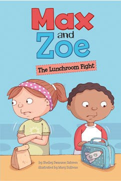 Max and Zoe: The Lunchroom Fight - EyeSeeMe African American Children's Bookstore