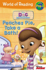 Doc McStuffins: Peaches Pie, Take a Bath! (World of Reading: Level Pre-1) - EyeSeeMe African American Children's Bookstore