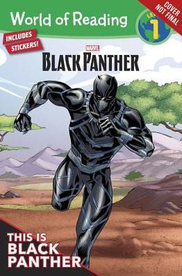 Marvel - World of Reading Series: This is Black Panther (Level 1}