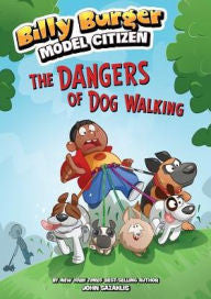Billy Burger:  The Dangers of Dog Walking - EyeSeeMe African American Children's Bookstore