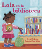 Lola at the Library (Spanish and English) - EyeSeeMe African American Children's Bookstore  - 2