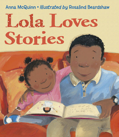 Lola Loves Stories (Spanish and English) - EyeSeeMe African American Children's Bookstore  - 1