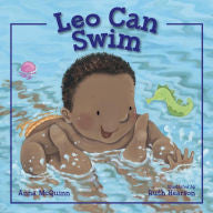 Leo Can Swim - EyeSeeMe African American Children's Bookstore